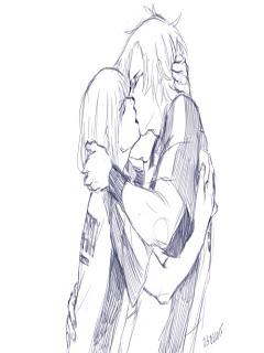 Xem hình vẽ hoạt hình đẹp nụ hôn ngọt ngào nồng nàn 2017