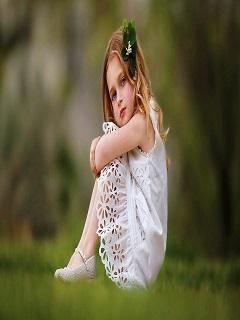 Hình nền bé gái đẹp xinh xắn đáng yêu năm Mậu Tuất