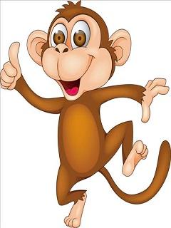 Hình nền con khỉ hoạt hình thông minh nhất năm 2018