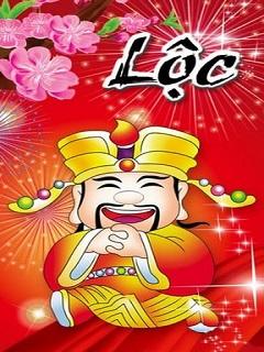 Hình nền năm mới rước Lộc tài đến muôn nhà năm 2018