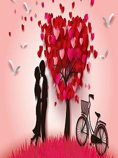 Tải hình nền tình yêu ngọt ngào lãng mạn năm 2018