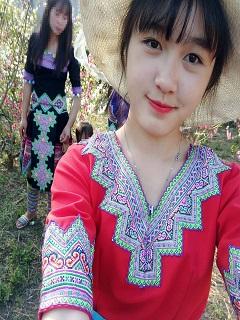 Tải hình girl dễ thương bán cơm lam ở Sapa 2018