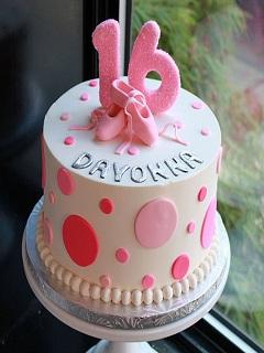 Các mẫu bánh sinh nhật ngộ nghĩnh dễ thương màu hồng