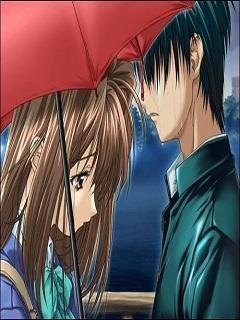 Hình nền hoạt hình chia tay khi cả hai vẫn còn yêu nhau