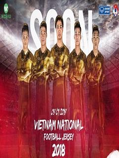 Hình nền thể thao U23 Việt Nam diện áo đấu cực chất