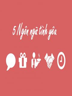 Hình nền tình yêu 5 ngôn ngữ chỉ các cặp đôi mới hiểu
