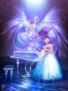 Những hình 3d đẹp dễ thương thiên thần siêu đáng yêu